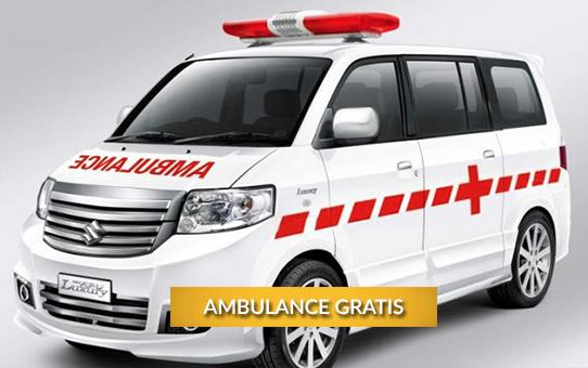 Ambulance Gratis Untuk Masyarakat